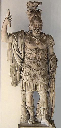 Roma Tanrısı Mars Heykeli