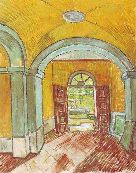 Vincent-van-Gogh-hastaneye-giris