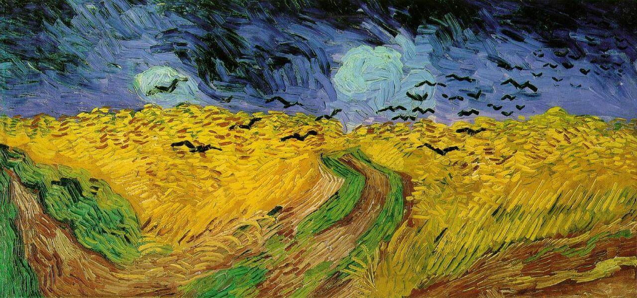 Vincent-van-Gogh-kargalarla-bugday-tarlasi