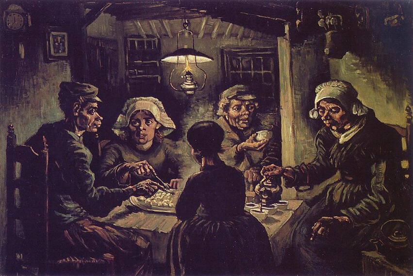 Vincent-van-Gogh-patates-yiyenler
