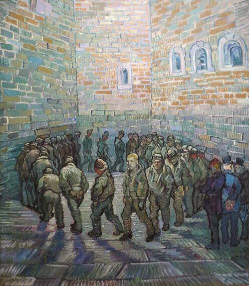 Vincent-van-Gogh-tutuklular-cemberi