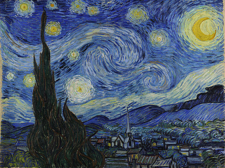 Vincent-van-Gogh-yildizli-gece