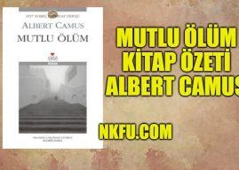 Mutlu Ölüm Kitap Özeti – Albert Camus