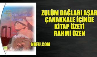 Zulüm Dağları Aşar - Çanakkale İçinde