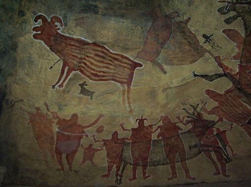İlk Çağlardan kalma mağara resimleri