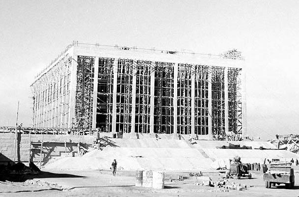 Anıtkabir inşaatı