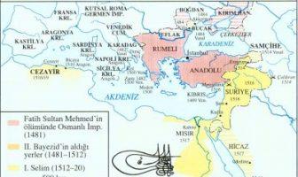 Osmanlı İmparatorluğu Yükselme Dönemi Haritası