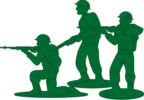 Army Clipart Toy Army Soldiers Clipart