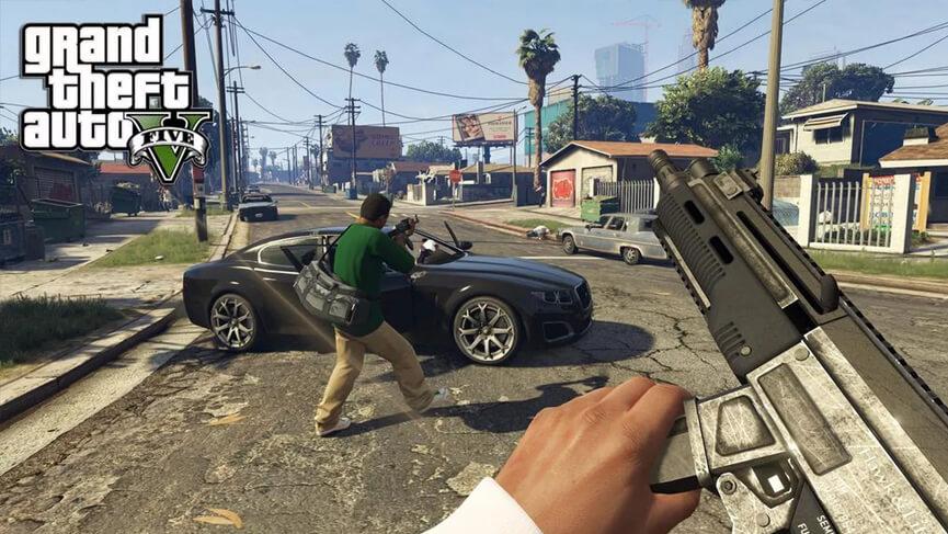 Grand Theft Auto V (Büyük Araba Hırsızlığı V)