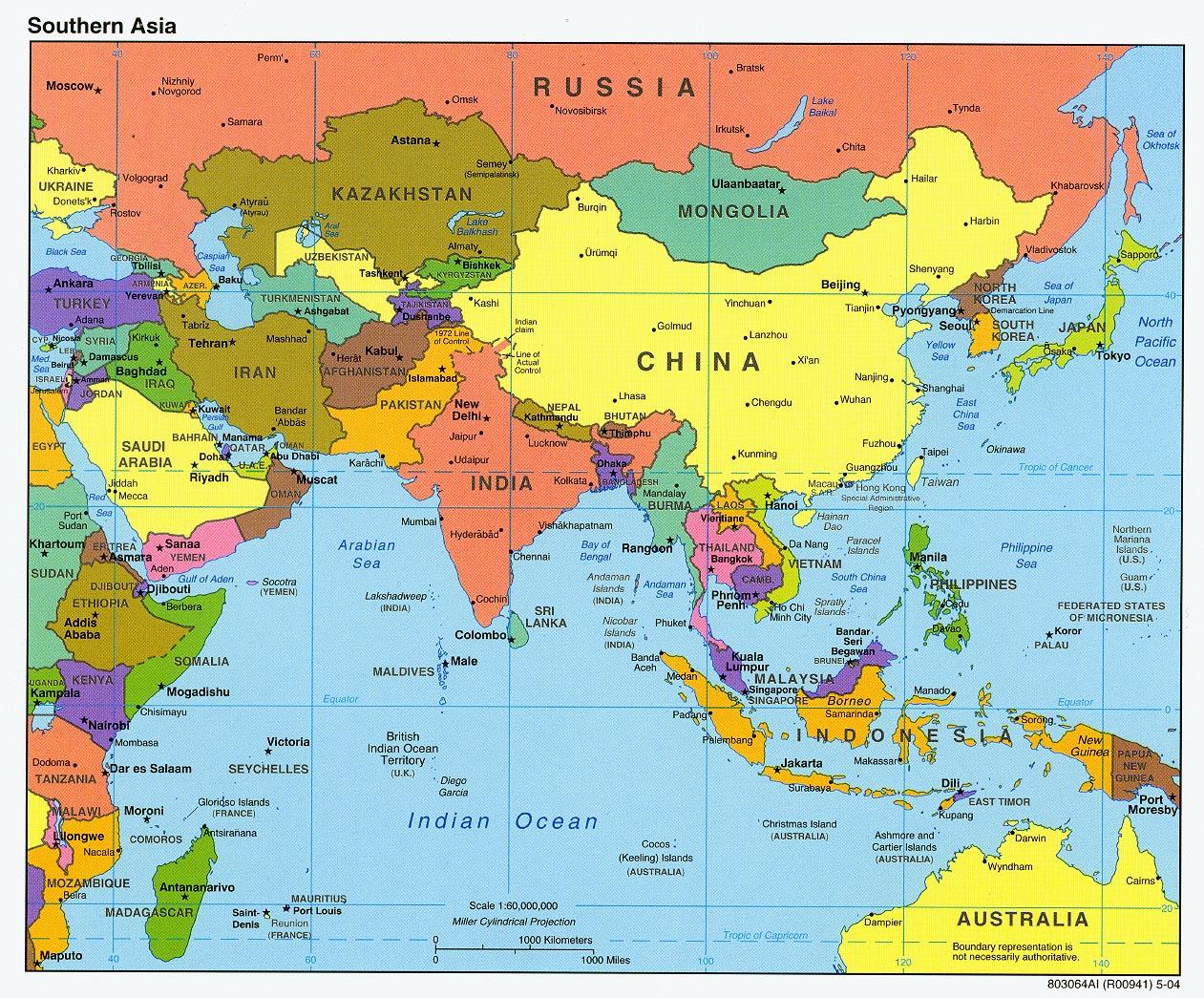 Asya kıtasında hangi uelkeler yer alır asya kıtası uelkeleri asya