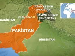 Azad Keşmir Haritası
