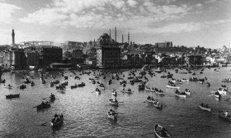Othmar Pferschy tarafından çekilmiş bir İstanbul fotoğrafı