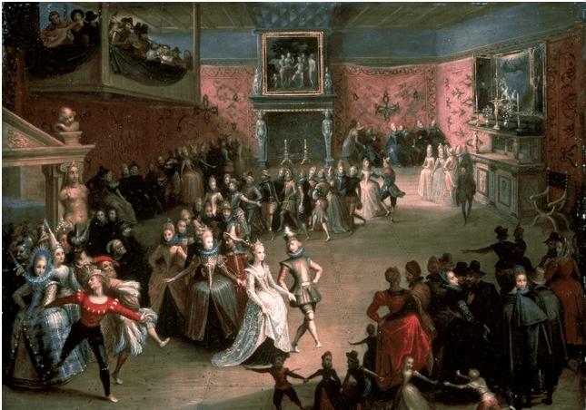Pavane Dansı