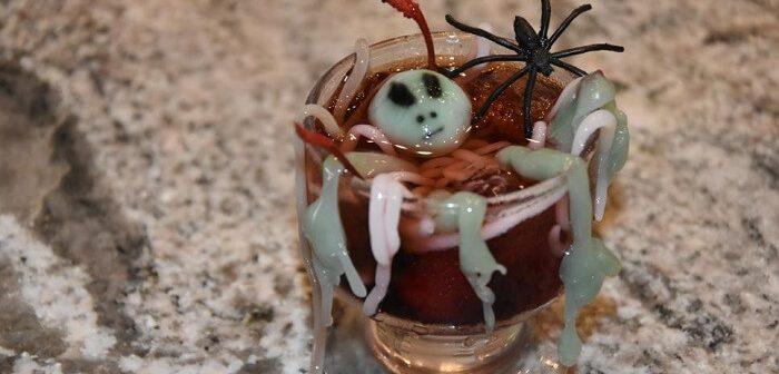 Cadılar Bayramı İçin Korkunç Kokteyller, Dip Soslar, Perili Mezar Tarifleri