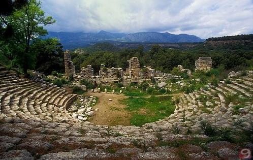 Faselis (Phaselis) Antik Kenti