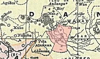Bagirmi Krallığı Haritası