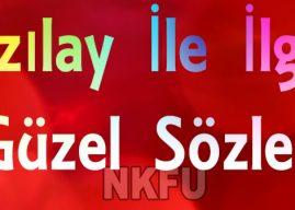 Kızılay Haftası İle İlgili Resimli Sözler – Sloganlar