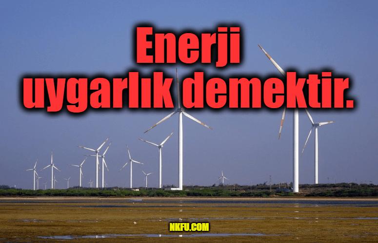 Enerji Tasarrufu İle İlgili Sözler - Sloganlar