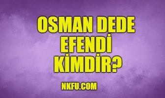 Osman Dede Efendi