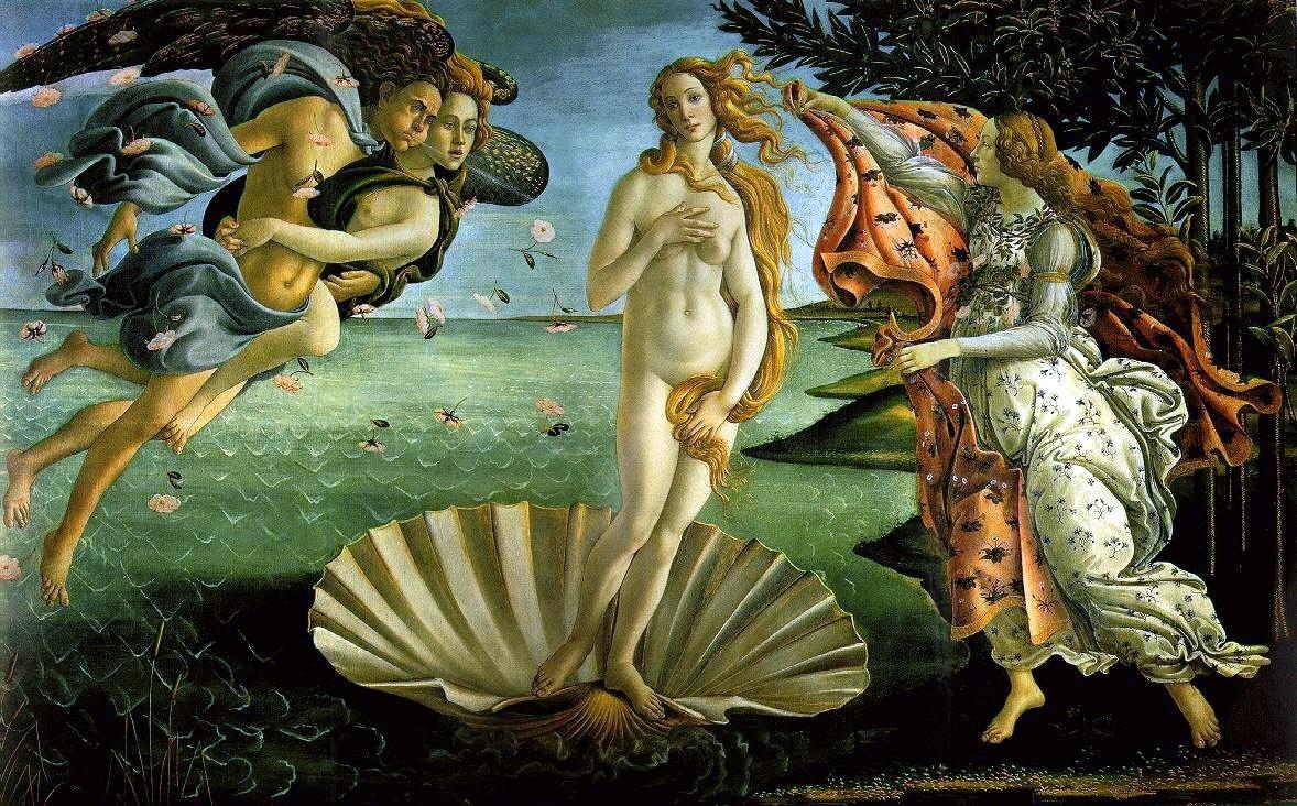 Sandro Botticelli - Venüsün Doğuşu
