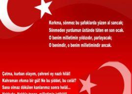 İstiklal Marşı'nın İngilizcesi – İstiklal Marşı İngilizce Sözleri, Çevirisi