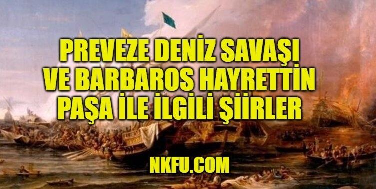 Preveze Deniz Savaşı Şiirleri