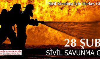 Sivil Savunma Günü Afişi