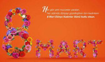 8 Mart Dünya Kadınlar Günü Kartları