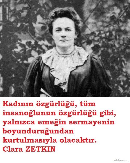 Clara Zetkin Sözleri