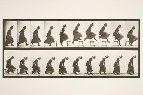 Eadweard J. Muybridge Çalışmalarından Örnek