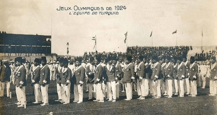 1924 Olimpiyatlarına Katılan İlk Türk Kafilesi