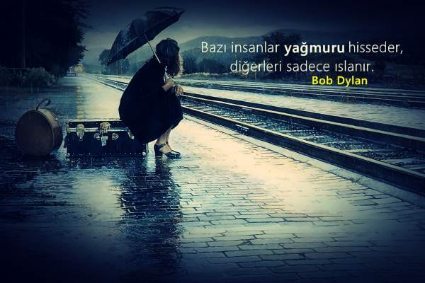 Yağmur İle İlgili Güzel Söz