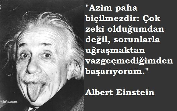 Albert Einstein Resimli Sözleri