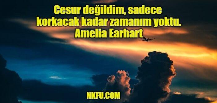 Amelia Earhart Sözleri – Gökyüzünün Özgür Kadınından Sözler Alıntılar