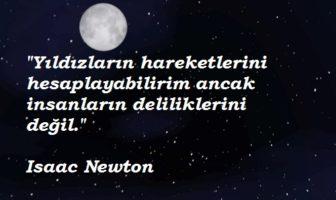 Isaac Newton Resimli Sözleri