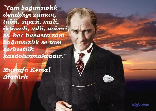 Mustafa Kemal Atatürk Resimli Sözleri