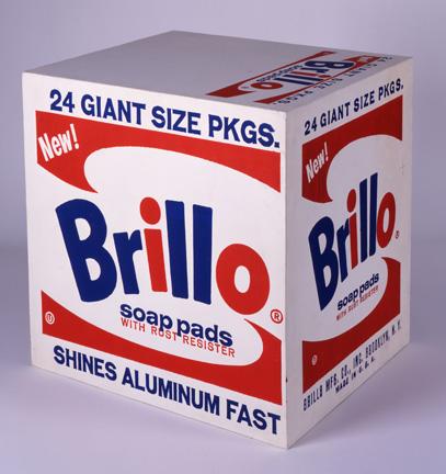 Brillo Kutusu Andy Warhol'un bir elek baskı çalışması, 1964