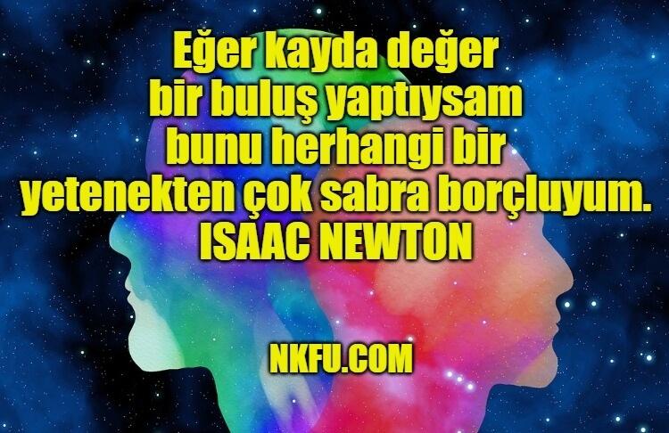 Isaac Newton Sözleri