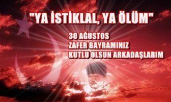 30 Ağustos Resimli Facebook Mesajları
