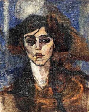 Amedeo Modigliani - Portrait of Maude Abrantes