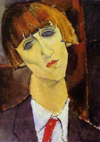 Amedeo Modigliani - Madame Kisling, 1917