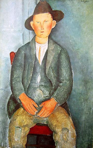 Amedeo Modigliani - The little peasant, 1918, Tate Modern, London