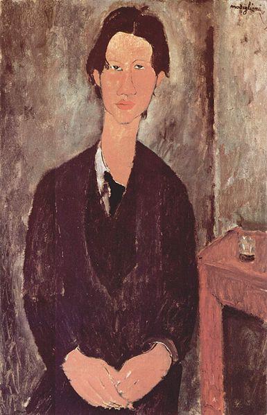 Amedeo Modigliani - Chaim Soutine Portresi, 1916