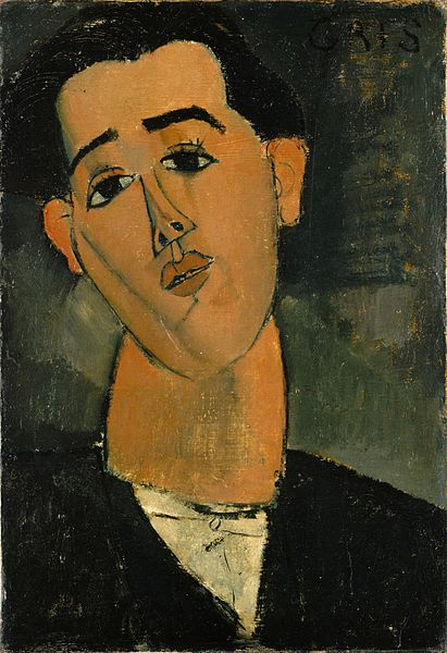 Amedeo Modigliani - Juan Gris'in Portresi, 1915