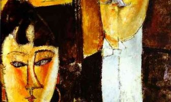 Amadeo Modigliani - Bride and Groom, 1915
