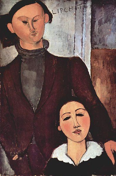 Amedeo Modigliani - Jacques and Berthe Lipchitz, 1916
