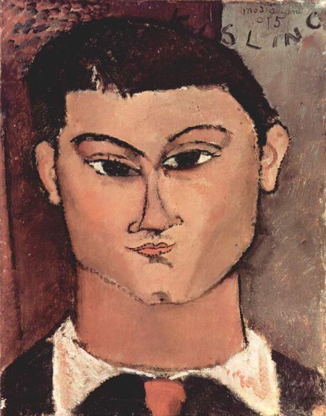 Amedeo Modigliani - Portrait of Moise Kisling, 1915