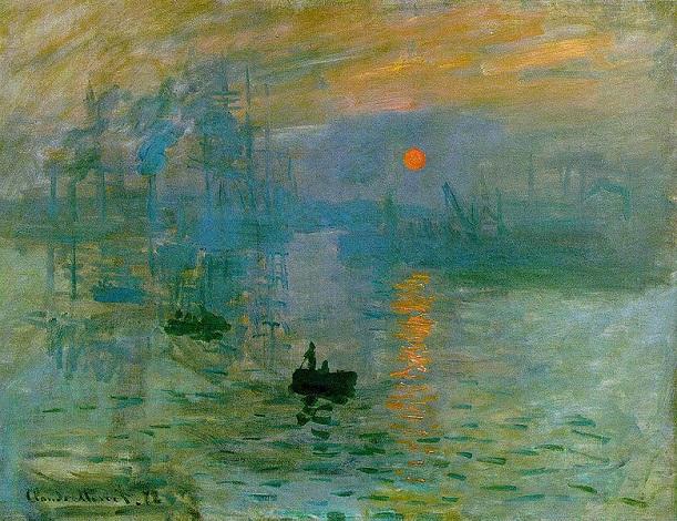 Claude Monet - İzlenim : Gün Doğumu isimli tablosu