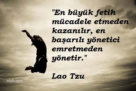 Lao Tzu Resimli Sözleri