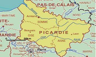 Picardie Haritası